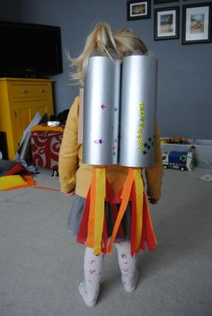 How to make a Rocket Backpack - The Spirited Puddle Jumper