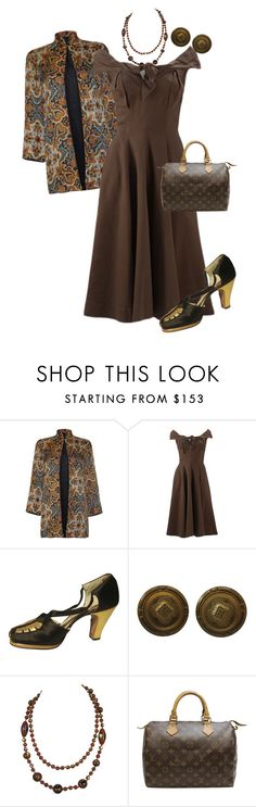 """""""Untitled #1371"""" by pholtond on Polyvore featuring Louis Vuitton"""