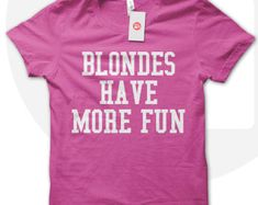 Blondes Have More Fu