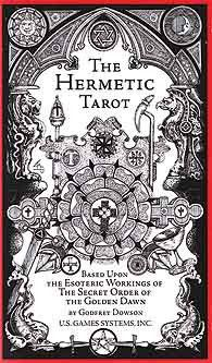 Based upon the esoteric workings of the Secret Order of the Golden Dawn, The Hermetic Tarot`s esoteric designs emphasize the Golden Dawn`s astrological attributes with further sephirotic, angelic, geomantic, numerical, and kabbalistic elements. Now revered as a classic, this deck`s black and white artwork by Godfre Dowson features intricate detailing that highlights the powerful symbolism involved. $18.00