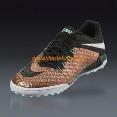 big sale 7056b 08e34 El mas barato Zapatillas de futbol Sala Nike Hypervenom X Finale TF El  Estano Metalico Negro Blanco