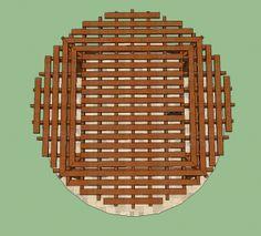 Another round pergola design