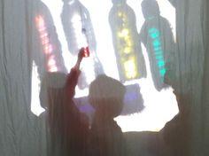 llum i color a l'espai de llum #infantilernestlluchabrera #atelierdelaluce #espaidellum #llum #ombres #llumicolor #ambients #espais