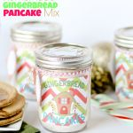 Homemade Gingerbread Pancake Mix {Free gift tags and printable labels}