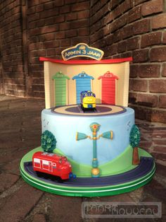 Els St Birthday Chuggington Cake Chuggington Birthday Cake - Chuggington birthday cake