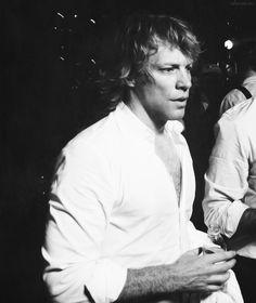 A very serious-looking Jon Bon Jovi