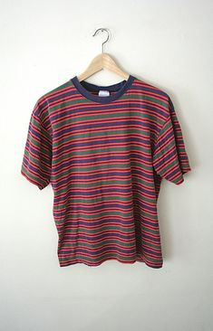 90s striped shirt!