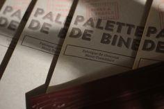 PALETTE DE BINE - Ta