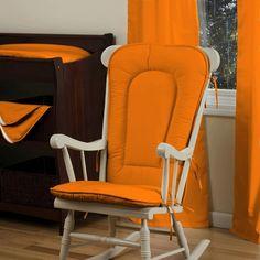 Image detail for -Home > Nursery Decor > Solid Orange Nursery Decor