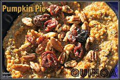 Makin' it Mo' Betta: Pumpkin Pie Quinoa