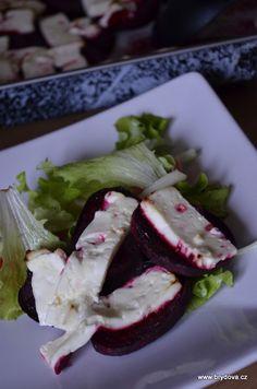 Pečená řepa Vegetarian Recipes, Food And Drink, Veggies, Tofu, Diet, Veg Recipes, Vegetables, Vegetable Dip Recipes, Vegan Recipes