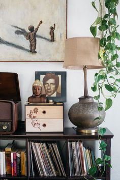 at home with photographer Marisa Vitale.
