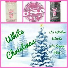 Pink Zebra Recipes: White Christmas.  Featuring: Winter Woods and Aspen Pine