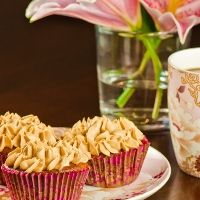 Caramel Pear Cupcake recipe