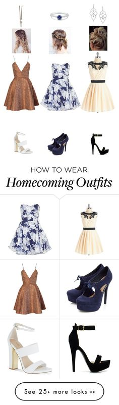 """Homecoming #3"" by bayclair on Polyvore featuring Joana Almagro, TFNC, Chi Chi, Carvela, Stephen Webster, BERRICLE and Givenchy"