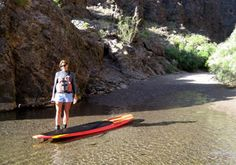 Stand Up Paddleboard - Las Vegas on Black Canyon, the Colorado River with #desertadventures