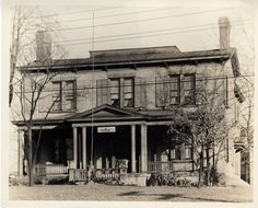 Edgemont Inn (Cincinnati) is a 2-story gray painted brick building on the corner of Gilbert and Foraker Ave. This former Beecher Homestead was the home of Rev. Dr Lyman Beecher (1775-1863). His family included Harriet Beecher Stowe and it is reasonable to assume that she received some of her anti-slavery sentiments in this house where prominent abolitionists came to visit.