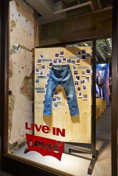 """""""LIVE IN LEVIS"""", London UK, pinned by Ton van der Veer"""