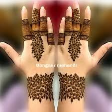Henna Hand Designs, Dulhan Mehndi Designs, Mehndi Designs Finger, Modern Henna Designs, Mehandhi Designs, Floral Henna Designs, Latest Bridal Mehndi Designs, Stylish Mehndi Designs, Mehndi Designs 2018
