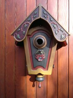 hand painted bird house by BirdHousingMinistry on Etsy