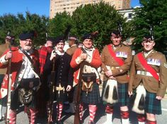 The 71st with the Royal Scots at the Greenville Highland games 2013
