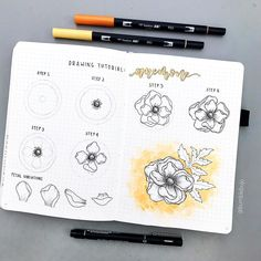 I always get asked to do a flower drawing tutorial. I've always put off making one because there are so many drawing tutorials out there, I…