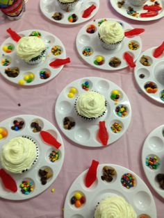 Decorate your own cupcake! It was a hit with the 5 yr olds!