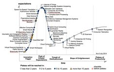 Big data has passed through big hype. Now eye has to be kept on how it navigates the period of disillusionment,