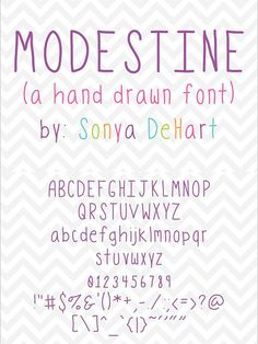 A quirky hand drawn font with upper and lowercase letters and glyphs. Upper And Lowercase Letters, Hand Drawn Fonts, Cute Fonts, Wedding Fonts, Sans Serif Fonts, Glyphs, How To Draw Hands, Calligraphy, Type