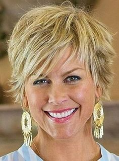 short hairstyles over 50, hairstyles over 60 - shaggy hairstyle for women over 50 by beverlyh