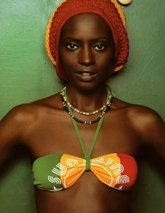 She is beautiful, love ya rasta girl - #NoviaDeLaSemana