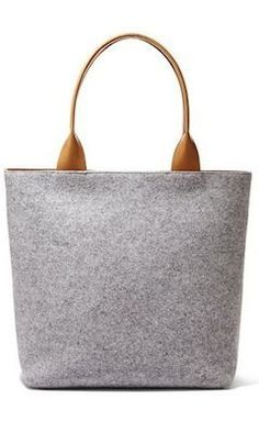 The Anja Wool Tote  — #CommuteInStyleContest [Promotional Pin]