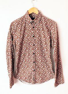 Kup mój przedmiot na #vintedpl http://www.vinted.pl/damska-odziez/koszule/12605294-wzorzasta-koszula-zara-w-rozmiarze-s-kwiatki-piekna
