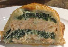 Salmon en croute inside