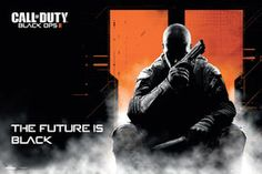 Call Of Duty Black Ops 2 - The future is black poster