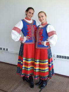 #Lemkos  ukrainian woman costume