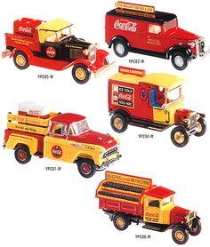 ... Collectibles: Platinum Editions | Licenses | Coca-Cola Series I