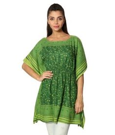 People Green And Yellow Kurti: Buy Online @ Rs.419 /- on Snapdeal | Item No.: 196701550