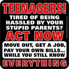 Advice For Teenagers - https://shareitsfunny.com/advice-for-teenagers/ - Funny Pictures on  Share Its Funny  #adviceforteenagers