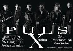 U subotu, 26. januara 2013. godine, bend Puls iz Niša proslaviće deset godina svoga rada koncertom u rodnom gradu. Poštovaoci Pulsa okupiće se u prostoru kluba Juridicum na Pravnom fakultetu.