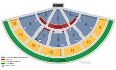 5SOS Sounds Live Feels Live Tour Tickets (Covered Seats) Endstage w/ Open Air Reserved