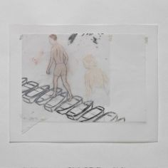 By Francis Alys. I found that this links in well with one of my drawings of an old man walking on concrete blocks in midair as Alys illustrates a half naked boy walking along a path of miniature boats drawn using graphite. Old Man Walking, Art Projects, Projects To Try, Boat Drawing, Gcse Art, Human Condition, Box Art, Contemporary Artists, Illustration Art