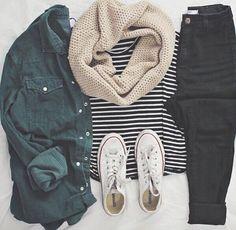 Black Jeans & Converse! <3 #mystyle #chic #converse #affiliate #comfy
