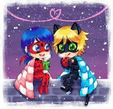 Miraculous Ladybug Christmas, Miraculous Ladybug Fan Art, Lady Bug, Meraculous Ladybug, Ladybug Comics, Ladybugs Movie, Chibi Kawaii, Ladybug Und Cat Noir, Cute Bunny Cartoon