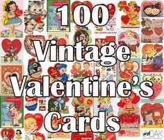 100 Vintage Ways to Say Be My Valentine Part 1