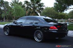 BMW 745i. So classy.