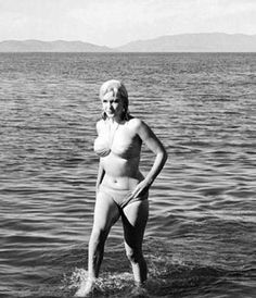 Marilyn Monroe - 1961 during the misfits photo by doc kaminsky