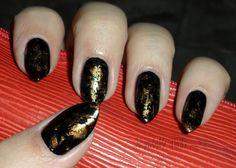 "Improbable Nails: ""Portoro"" nails"