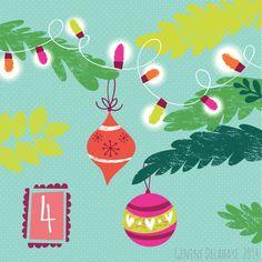 Genine Delahaye: Advent - Day 4