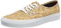 Vans Schuhe - Authentic (Cork) Tan Braun/Weiß Wahre 38,5 - http://on-line-kaufen.de/vans/38-5-eu-5-5-uk-6-5-us-vans-u-authentic-unisex-sneakers